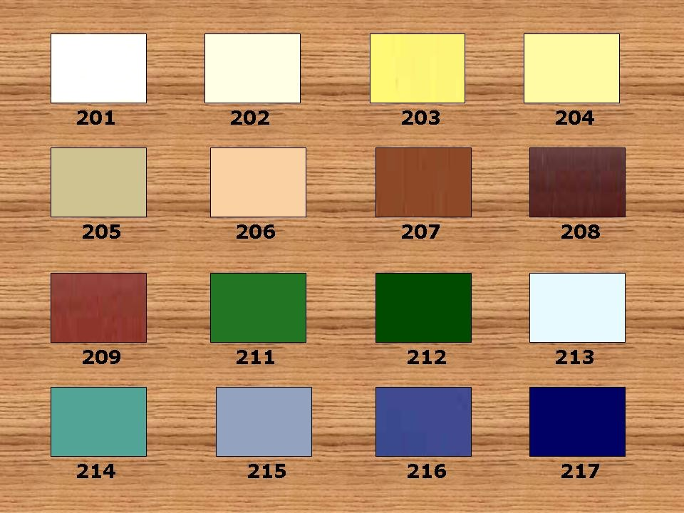 Outdoor Furniture Vinyl Strap Colors